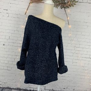 Treasure & Bond One Shoulder Slouchy Sweater